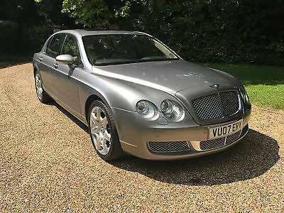 2007 Bentley Continental Flying Spur Mulliner Met Grey With Ochre Leather