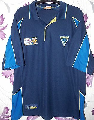 Isc Warrington Wolves  Rl Polo smart leisure shirt  size on tag size L 44 chest