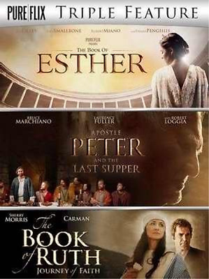 The Book Of Esther / Apostle Peter And The Last Supper / The Book O...  DVD NEW