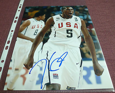 Kevin Durant 8x10 signed autographed photo InPerson