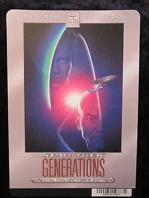 Star Trek Generations movie backer card (this is not a movie)