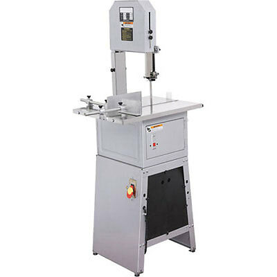 """New 10"""" Standing Meat Saw Cutter Butcher Cutting Stand Up Grinder Sausage Saw"""