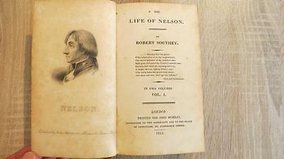 "1813 ""THE LIFE OF NELSON"" by ROBERT SOUTHEY - 1ST ED - TWO VOLS IN ONE - ILLUS"