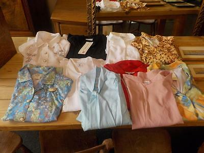Job Lot / Bundle Woman's Clothing  Blouses  Mixed Brands Size 18-20  (10 Items