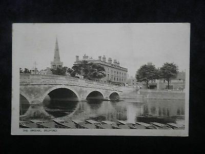 Boots The Chemists Photogravure Series Old Postcard Of The Bridge, Bedford