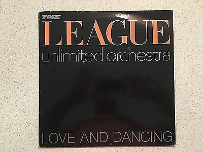 """The League, Unlimited Orchestra - Love and Dancing (1981) - 12"""" Vinyl Record"""