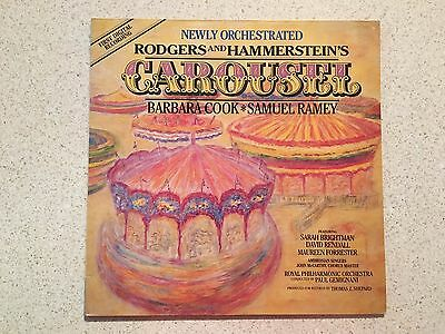"""Rodgers and Hammerstein's - Carousel (1987) - 12"""" Vinyl Record"""