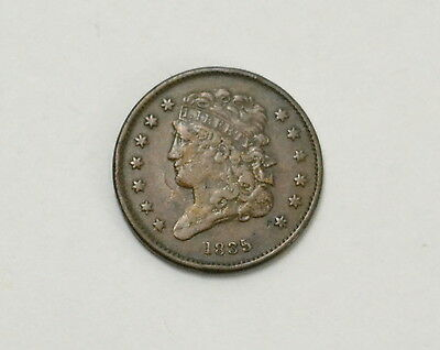 1835 Classic Head Half Cent RARE US Coin Lot #12