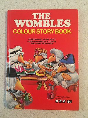 Vintage Annual - The Wombles Colour Story Book 1976