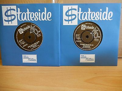 The Four Tops & The Marvelettes - 2 x Stateside 7""