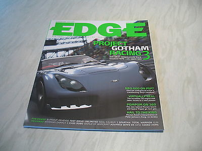 The Edge magazine # 153 issue September 2005 Project Gotham Racing 3