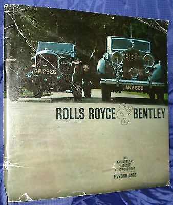 RF1660 Rolls-Royce Bentley 60th Anniversary 64 Program