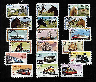 Philippinen Briefmarken Lot   gestempelt