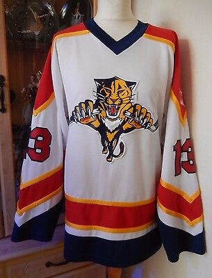 Adults Vintage Ice Hockey Shirt/jersey Top Miami Panthers Fit Size S/m  38/40 ?