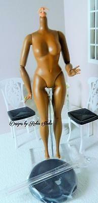 Mattel AA Articulated Curvy Doll Barbie Body~New~For Ooak or Body Replacement