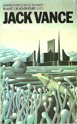 City Of The Chasch by Jack Vance, 1st Mayflower Books UK paperback edition, 1974