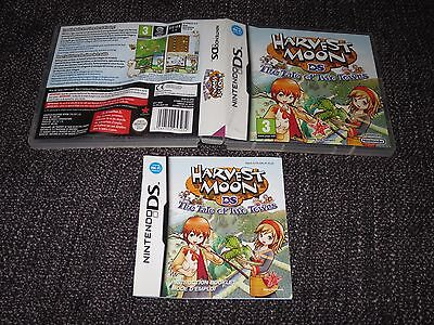 Harvest Moon The Tale Of Two Towns - Nintendo Ds Box & Manual Only