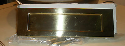 Polished Brass Letterbox New In Box
