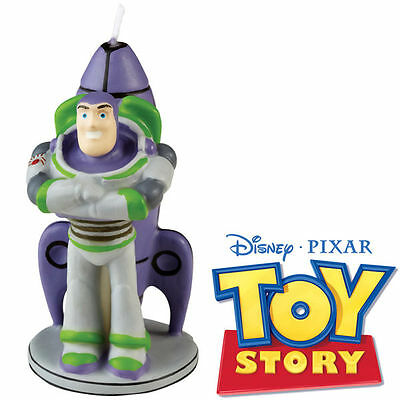 Wilton Disney Pixar Toy Story Birthday Candle - Buzz Lightyear 3 ¼ Inch Candle