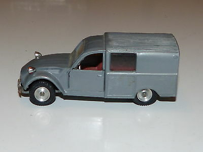 Chiqui Cars Nacoral Citroen 2 CV Fourgonette Made in Spain Modelcar 1/43 Modell