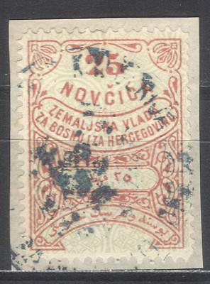 Bosnia Herzegovina Austria 1879 first issue 25 Novcica revenue Stempelmarke