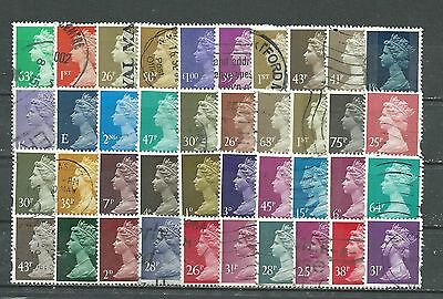 Great Britain, Used, 40 Various