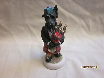 Country Companions Robert Harrop CC 65 Scottie Piper Figurine