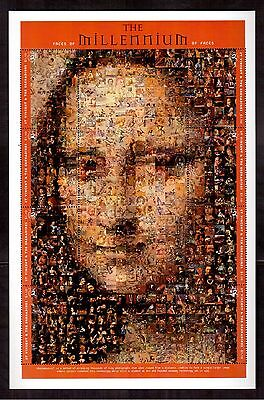 St.vincent & The Grenadines 2000 #2739 S/s Of 8 Stamps Mint Nh, Mona Lisa !!