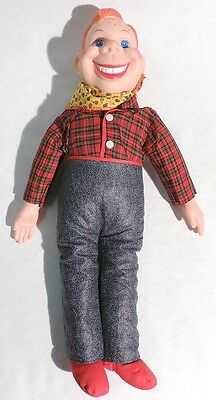 P115. Vintage: HOWDY DOODY 19 Inch Plush Doll by NBC and Eegee (c. 1973)
