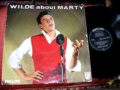 MARTY WILDE  -    Wilde About Marty,      RARE ORIGINAL 1959 UK DEBUT LP