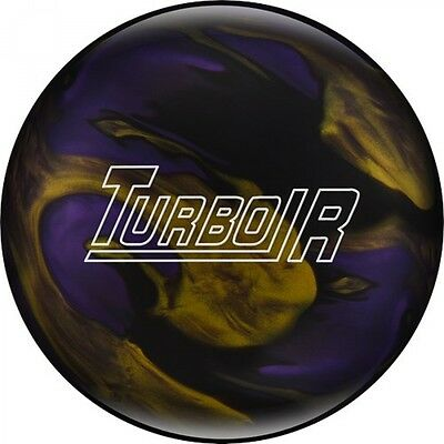 Ebonite Turbo/R Black/Purple/Gold Bowling ball Reactive
