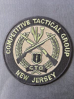 New Jersey Competitive Tactical Group  Shoulder Patch