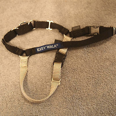 PetSafe Easy Walk Black/Silver P Petite Dog Harness Girth Sizes 12-16""