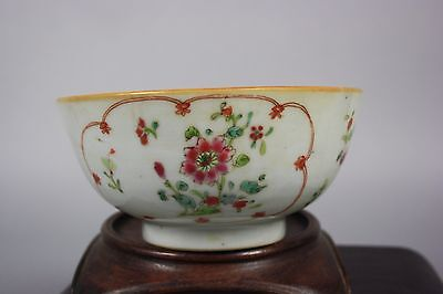 18th C. Chinese Qianlong Famille-rose Bowl