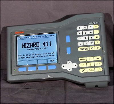 Good Acu-Rite Anilam Wizard 411 2-Axis Lcd Readout, Model 411-2X T