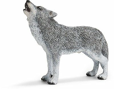 WOLF HOWLING; toy/replica/Schleich/wolves/RETIRED