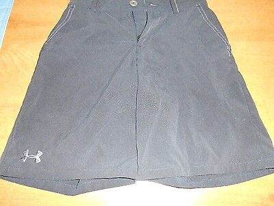 Under Armour Black Shorts Youth Small