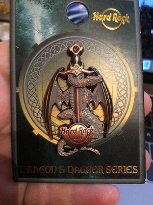 Hard Rock Cafe Seville Sold Out Dragon & Dagger Series Pin