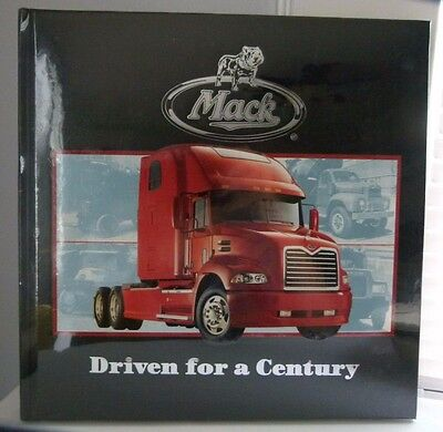 Mack Trucks Driven for a Century Book by John Heilig BRAND NEW!