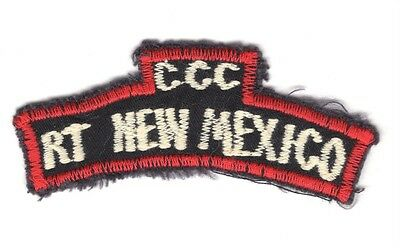 Army Patch:  Special Forces Recon Team New Mexico - VN made tab