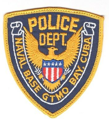 USN Patch Patch:  Police Department Naval Base Guantanamo Bay, Cuba
