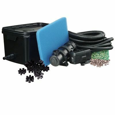 Ubbink - Kit filtration de bassin < 2000l - [Filtrapure 2000+ set] NEUF