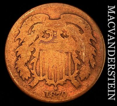 1870 Two Cent- Scarce !! Better Date !!  #u216