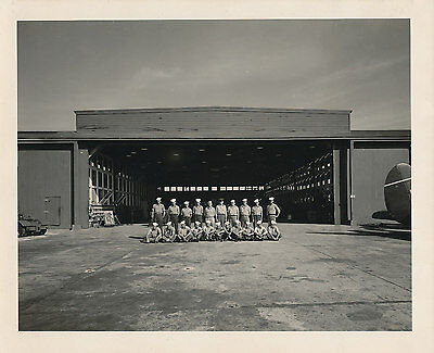 1943 WWII Sailors Hanger Naval Air Station Barbers Point ? Hawaii  8x10 Photo
