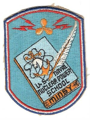 USN Patch Patch:  Naval Nuclear Power School MINSY