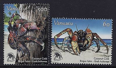 2008 Vanuatu Coconut Crabs Set Of 2 Fine Mint Mnh/muh