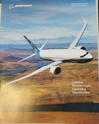 Boeing  2016 Annual Report NEW airplanes corporation BAC unread