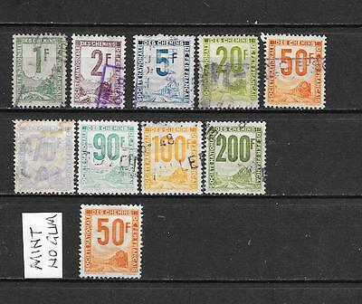 France - Used - Selection Of 10  Parcel Post Stamps - See Scan