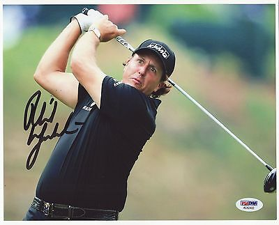 Phil Mickelson Signed Autographed 8X10 Photo Psa/dna #ac62432 Golf Champion