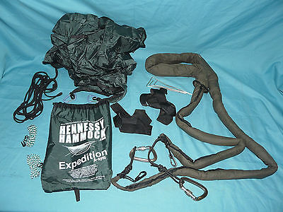 HENNESSY HAMMOCKS Expedition A-Sym Camping Tent Hammock w/ SnakeSkins NICE!